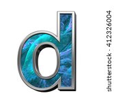 One Letter From Blue Fractal...