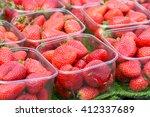 Strawberries  Fragaria Ananassa ...