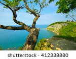 view point above the sea. a... | Shutterstock . vector #412338880