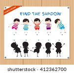find the shadow educational... | Shutterstock .eps vector #412362700