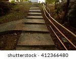 Small photo of staircase up acclivity.