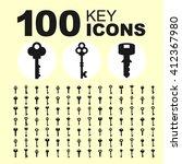Key Icon Collection. Vector...