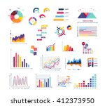 data tools finance diagram and... | Shutterstock .eps vector #412373950