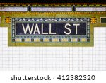 New York City Wall Street...