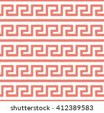 greek seamless pattern ... | Shutterstock .eps vector #412389583
