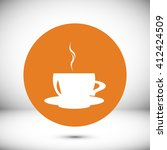 coffee icon | Shutterstock .eps vector #412424509