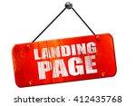 landing page  3d rendering ...