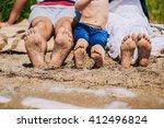 female  children's and male...   Shutterstock . vector #412496824