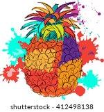 vector illustration of... | Shutterstock .eps vector #412498138