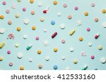 a photo of different medical... | Shutterstock . vector #412533160