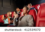 cinema  entertainment and... | Shutterstock . vector #412539070