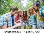 technology  travel  tourism ... | Shutterstock . vector #412540720
