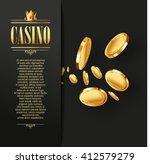 casino vector gambling... | Shutterstock .eps vector #412579279