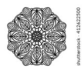 mandala. ethnic decorative... | Shutterstock .eps vector #412622500