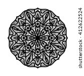 mandala. ethnic decorative... | Shutterstock .eps vector #412622524