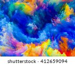 colors of imagination series.... | Shutterstock . vector #412659094