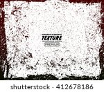 grunge texture   abstract... | Shutterstock .eps vector #412678186