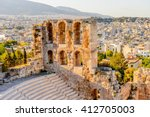 Amphitheater Of The Acropolis...
