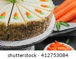 Carrot Cake Pie  Sprinkled Wit...