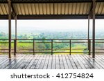 Wooden Floor With Natural View...