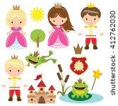 fairy tale vector illustration   Shutterstock .eps vector #412762030