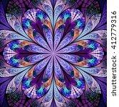 Abstract Flower Mandala....