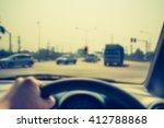 vintage tone blur image of... | Shutterstock . vector #412788868