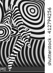 raster sexy legs in zebra... | Shutterstock . vector #412794256
