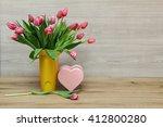 tulips   Shutterstock . vector #412800280