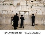 Prayer At The Western Wall Of...