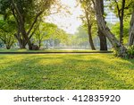beautiful morning light in... | Shutterstock . vector #412835920