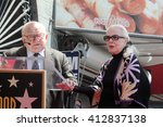 los angeles   apr 28   ed asner ... | Shutterstock . vector #412837138