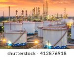 oil and gas industry   refinery ...   Shutterstock . vector #412876918