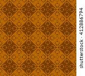 orange abstract background ... | Shutterstock .eps vector #412886794