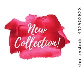 new collection vector card ... | Shutterstock .eps vector #412902823