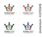 crown food logo  royal food logo | Shutterstock .eps vector #412920658