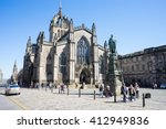 Edinburgh  Scotland   20 Arpil...