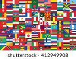 world flags background vector... | Shutterstock .eps vector #412949908