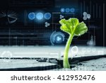 modern technologies for new life | Shutterstock . vector #412952476