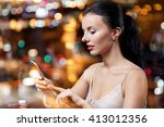 people  nightlife  technology... | Shutterstock . vector #413012356