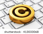 intellectual property... | Shutterstock . vector #413033068
