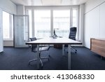 single office interior | Shutterstock . vector #413068330