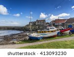Craster Harbour A Fishing Port...