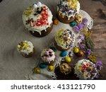 easter and egg | Shutterstock . vector #413121790