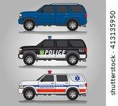 vector illustration of three... | Shutterstock .eps vector #413135950