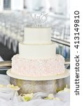 wedding cake | Shutterstock . vector #413149810