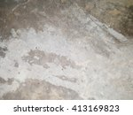 grunge crack wood texture... | Shutterstock . vector #413169823