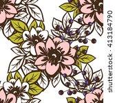 abstract elegance seamless...   Shutterstock .eps vector #413184790