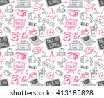 back to school background | Shutterstock . vector #413185828