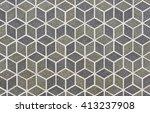 abstract retro geometric... | Shutterstock . vector #413237908